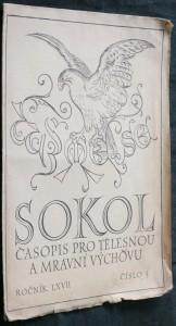 náhled knihy - Sokol časopis pro tělesnou a mravní výchovu, r. LXVII, č. 3