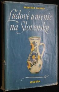 náhled knihy - Ĺudové umenie na Slovensku