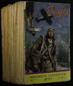 náhled knihy - Biggles: Hrdinové vzdušných bitev, 41 sešitů