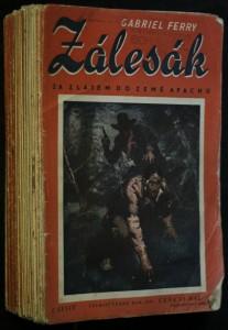 náhled knihy - Zálesák: Za zlatem do země apachů