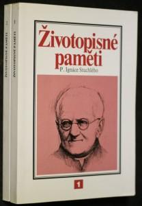 náhled knihy - Životopisné paměti P. Ignáce Stuchlého 2 svazky