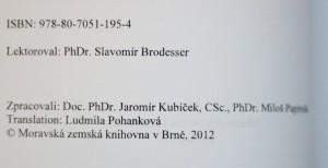 antikvární kniha Papežská knihtiskárna benediktinů rajhradských v Brně 1881-1918, 2012