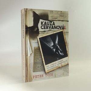náhled knihy - Kauza Cervanová I. (slovensky) (zabalená)