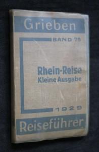 náhled knihy - Rhein-reise, klaine ausgabe