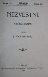 antikvární kniha Nezvěstní, 1929