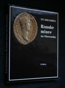 náhled knihy - Rímske mince na Slovensku