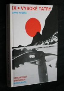 náhled knihy - Vysoké Tatry : horolezecký sprievodca : monografia. Diel 9, Rázsocha Kriváňa