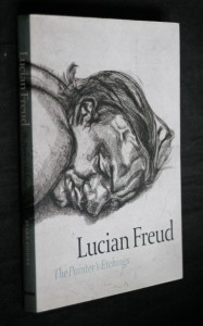 náhled knihy - Lucian Freud : the painter´s etchings