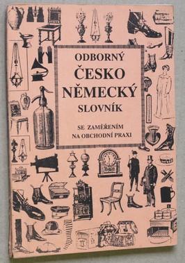 náhled knihy - Odborný českoněmecký slovnik se zaměřěním na obchodní praxi