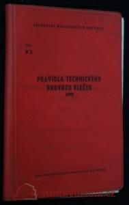 náhled knihy - Pravidla technického provozu vleček : platí od 1. ledna 1981