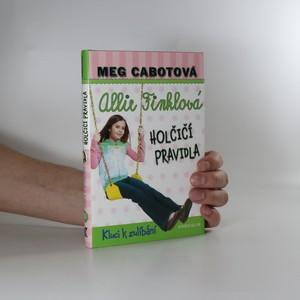 náhled knihy - Allie Finklová holčičí pravidla 3. Kluci k zulíbání