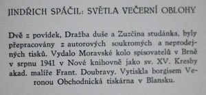 antikvární kniha Světla večerní oblohy : povídky o všelijakých lidech, 1941
