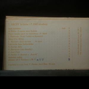 antikvární kniha Archy (7). Ke žním L. P. 1947, neuveden