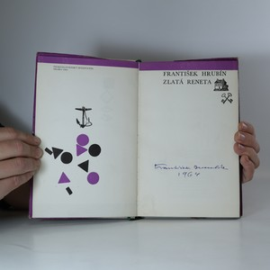 antikvární kniha Zlatá reneta (podpis autora), 1964