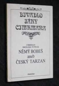 náhled knihy - Němý Bobeš, aneb, Český Tarzan
