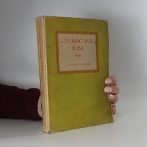 náhled knihy - Řím : 1906-1907