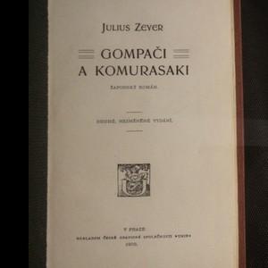 antikvární kniha Gompači a Komurasaki : žaponský román, 1903