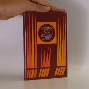 náhled knihy - Poslední jamby