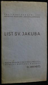 náhled knihy - List sv. Jakuba