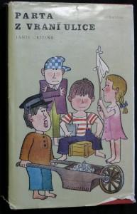 náhled knihy - Parta z vraní ulice