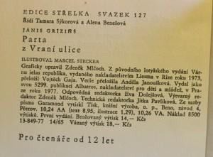 antikvární kniha Parta z vraní ulice, 1977