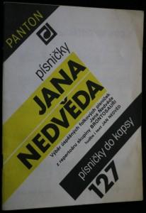 náhled knihy - Písničky Jana Nedvěda