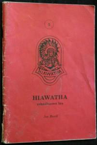 náhled knihy - Hiawatha celotáborová hra