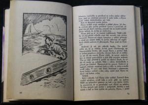 antikvární kniha Modrá jachta, 1935