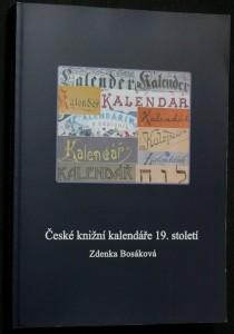 náhled knihy - České knižní kalendáře 19. století