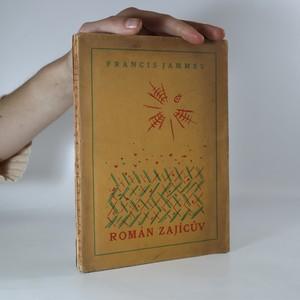 náhled knihy - Román zajícův (obálka a dřevoryt Josef Čapek, výtisk číslo 36)