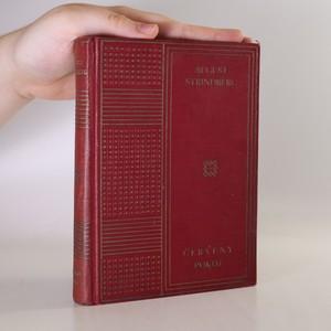 náhled knihy - Červený pokoj. Obrazy ze života umělců a spisovatelů