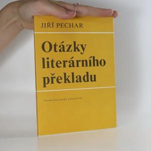 náhled knihy - Otázky literárního překladu