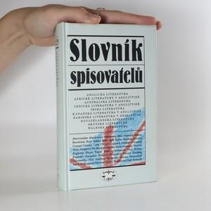 náhled knihy - Slovník spisovatelů