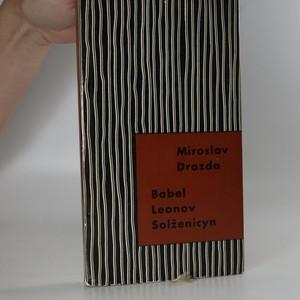 náhled knihy - Babel, Leonov, Solženicyn