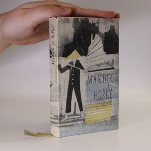 náhled knihy - Maniok je hořký