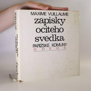 náhled knihy - Zápisky očitého svědka Pařížské komuny