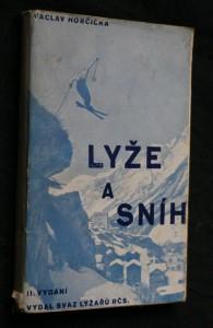 náhled knihy - Lyže a sníh