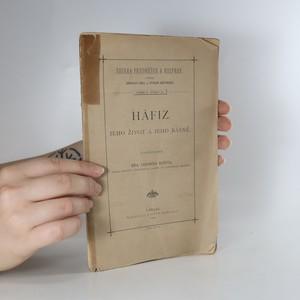 náhled knihy - Hâfiz. Jeho život a jeho básně