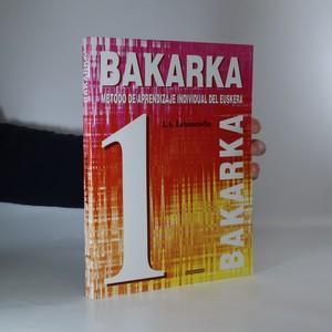 náhled knihy - Bakarka. Método de aprendizaje individual del euskera