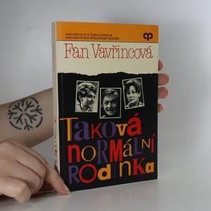 náhled knihy - Taková normální rodinka