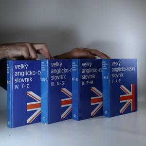 náhled knihy - Velký anglicko-český slovník I. - IV. (4 svazky)