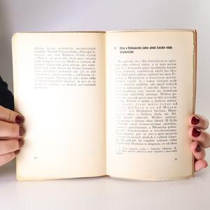 antikvární kniha Dějiny a přítomnost, 1931