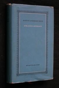 náhled knihy - Ztracená generace : vzpomínkový román