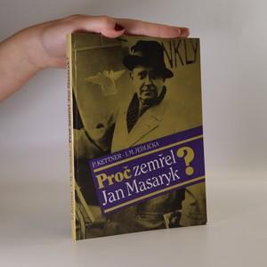 náhled knihy - Proč zemřel Jan Masaryk?