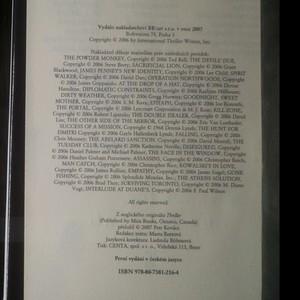 antikvární kniha Thriller, 2007
