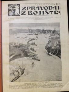 náhled knihy - Obrazový zpravodaj z bojiště 1904 - 1905 č. 1. - 104.