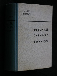 náhled knihy - Receptář chemicko-technický