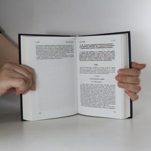 antikvární kniha Ústavní soud České republiky. Sbírka nálezů a usnesení. Svazek 5., 1997