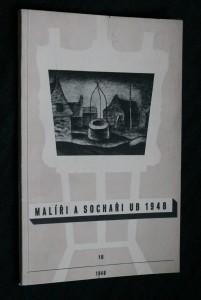 náhled knihy - Malíři a sochaři UB