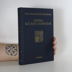 náhled knihy - Ústavní soud České republiky. Sbírka nálezů a usnesení. Svazek 9.